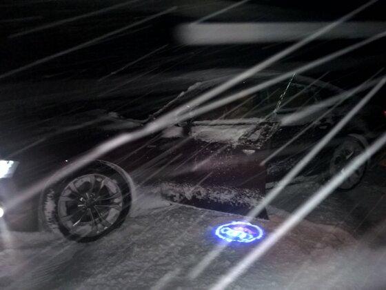 Der erste Schnee. Jippie!!!