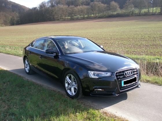 Mein Audi A5 Sportback